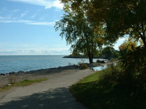 Beach at Humber Bay Park East