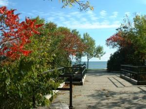 The Park Near the Beach at Humber Bay Park East.