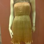 Gold Dress at Denise