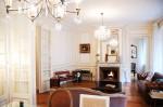 Living Room of Apartment in Marais District, Paris