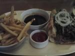 Beef Sandwich Au Jus with Skinny Fries