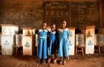 Children Using Biosand Filters from Thirst Relief International
