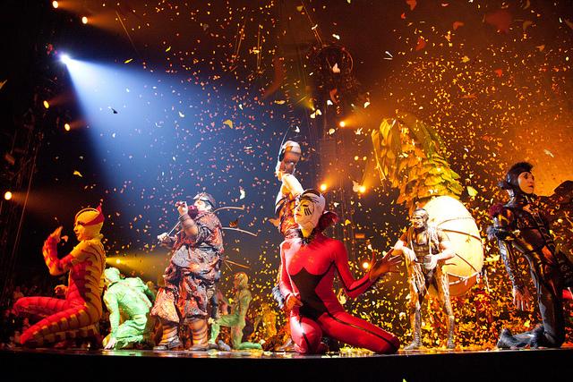 Cirque du Soleil's OVO, photo by Ed Shipul