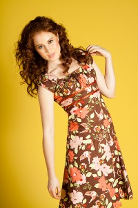 Cotton Print Dress from Fresh Baked Goods, photo Emma-Lee Photography