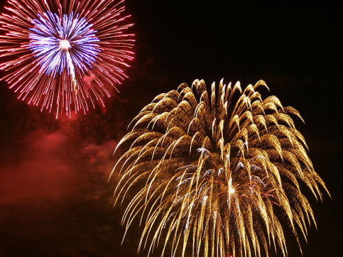Fireworks, photo by Amani Hasan