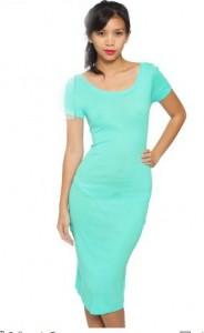 American Apparel Short Sleeve Scoop Neck Dress, $36