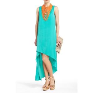 BCBG Avery Asymmetrical Dress, $168