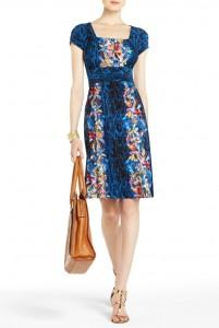 BCBG Kasey Keyhole Dress, $198