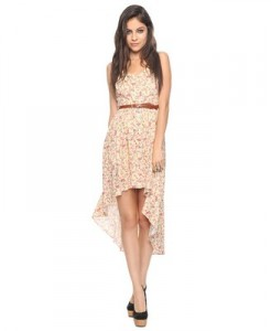 Forever 21 Floral and Assymetrical Dress, $24.80