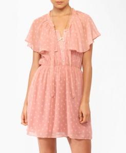 Forever 21 Flowered Ditsy Bow Dress, $24.80