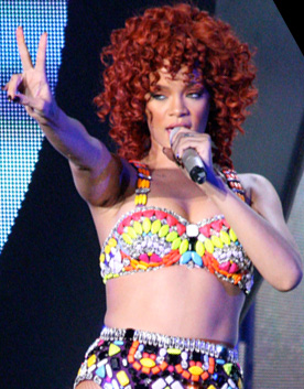 Rihanna on her LOUD Tour, photo BBGunBilly