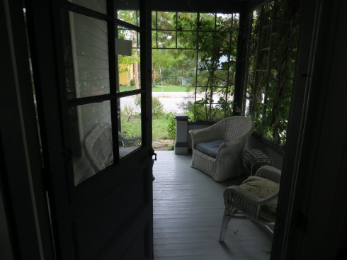 Porch at Hillsdale House B&B Bloomfield