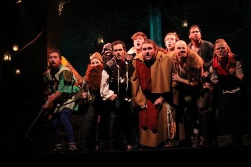 Cast of Robin Hood, photo Daniel DiMarco