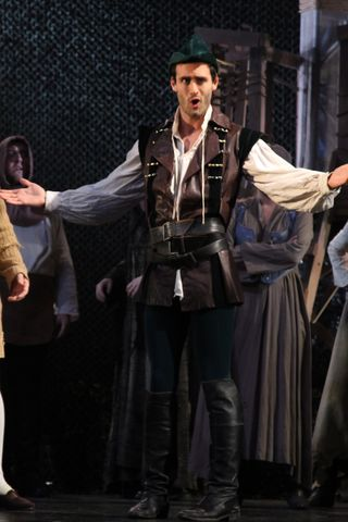 Daniel James as Robin Hood, photo Daniel DiMarco