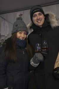 Enjoying Niagara Icewine Festival in St. Catharines, photo Brain Farm