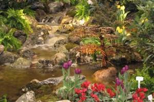 Rock Garden at Canada Blooms, photo Canada Blooms