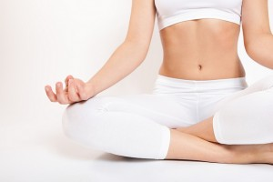 Yoga lotus position, photo RelaxingMusic