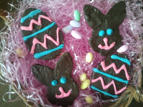 Easter egg and bunny florentynes from Mary's Gourmet, $7