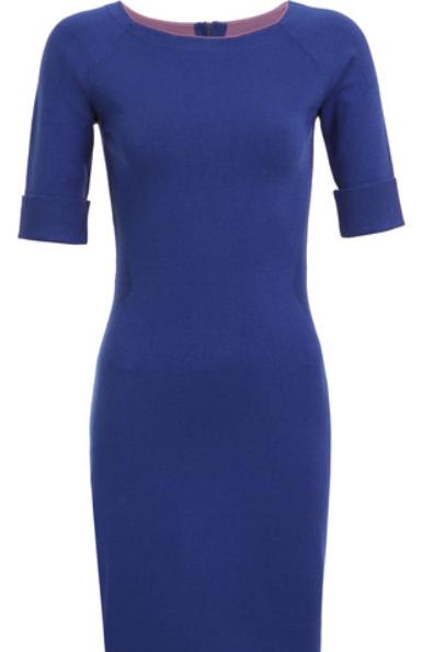 Dress in Cobalt Blue from Mexx, sale $59.99, reg. $110.90