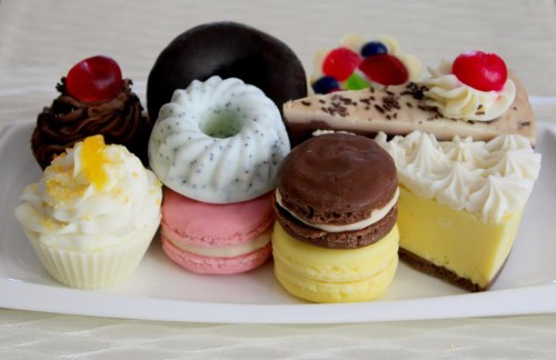 Baked Soap Bath and Beauty Desserts