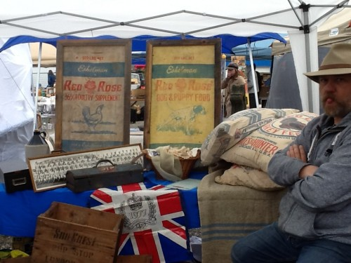 Collectibles from L&A Vintage at Leslieville Flea