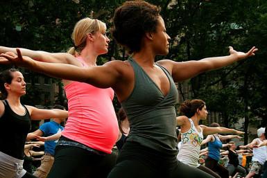 Yoga in the Park, photo lululemon athletica