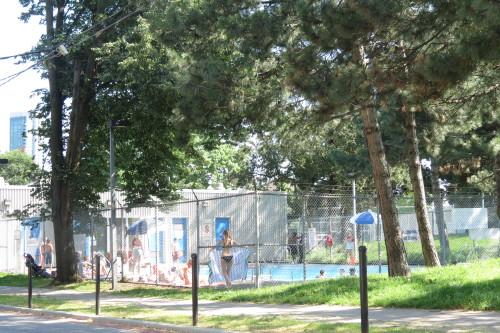 Stanley Park Pool on Walnut Street