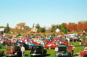 Antique Cars at Norwood Fall Fair