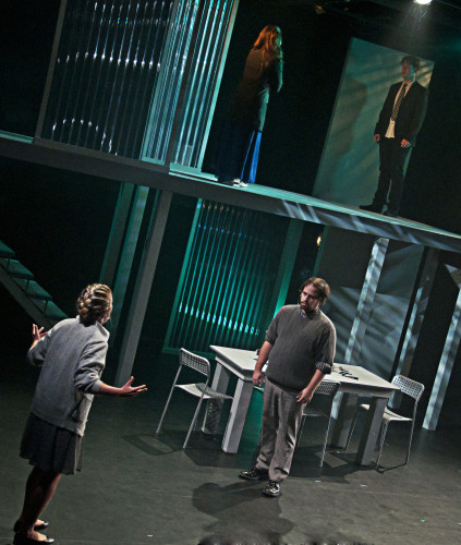 Next to Normal at Lower Ossington Theatre, photo Seanna Kennedy