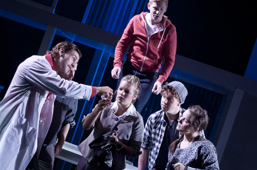 Next to Normal at the LOT in Toronto, photo Seanna Kennedy
