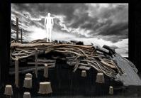 Set Design of Bone Cage at Hart House Theatre by Elizabeth Kantor