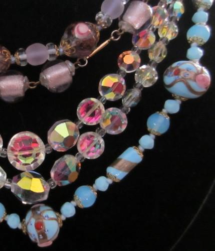 Glass Beads from Bijoux Vintage Costume Jewellery