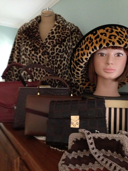 Handbags and animal print coats from Retrouver