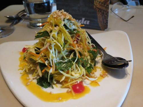 Mango Salad at Linda Modern Thai