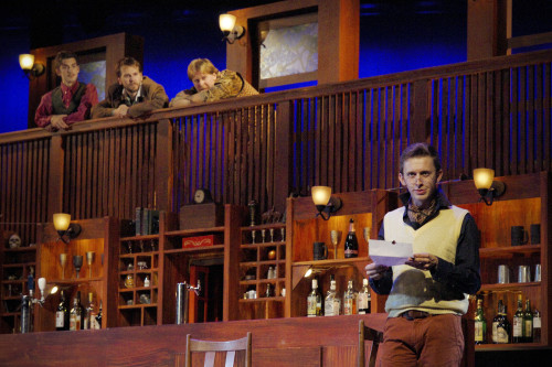 Scott Farley as Malvolio, photo Scott Gorman