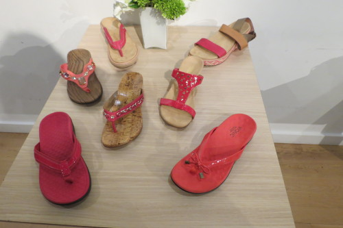 Spring 2014 women's collection from Vionic Footwear
