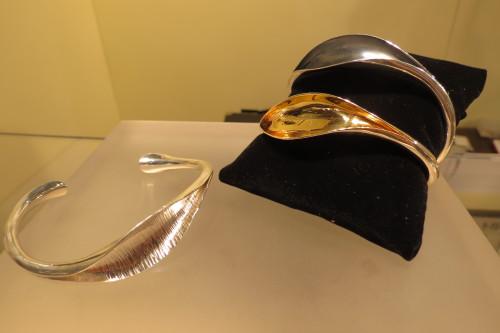 Flourisher cuffs from Marina Babic, $520-$550 each