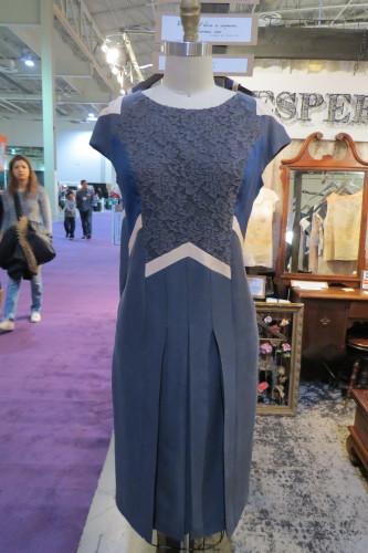 Grey dress from Vespertine, $278