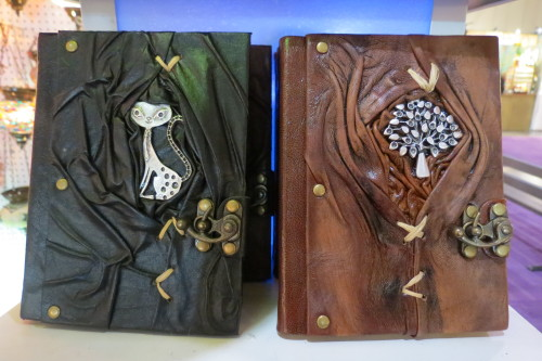 Leather journals from My Magic Lantern, $30