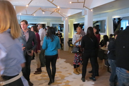 Media preview at Byblos Restaurant in Toronto