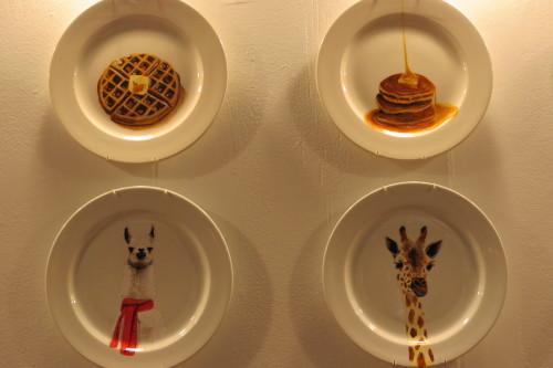 Plates from Jacqueline Poirier Custom Ceramic Art, $100