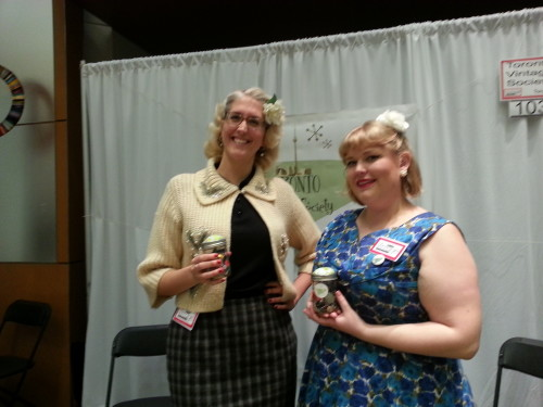 Women from the Toronto Vintage Society