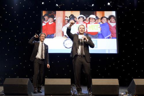 Craig and Marc Kielburger, cofounders of Free The Children, photo Michael Rajzman/Free The Children