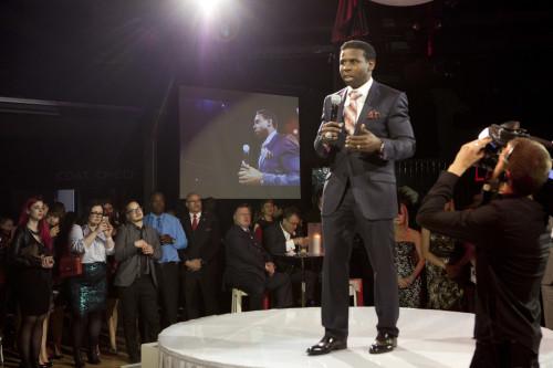 Michael Pinball Clemons at We U Night Gala, photo Michael Rajzman/Free The Children