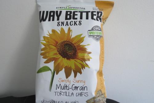 Way Better Snacks Simply Sunny Multi-Grain Tortilla Chips