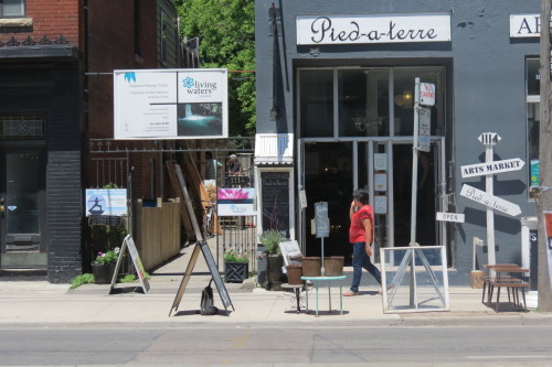 Living Waters Therapies at 1114 Queen Street East, Toronto