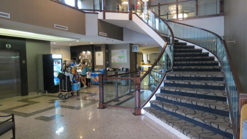 Lobby at Ramada Plaza Niagara Falls, Canada