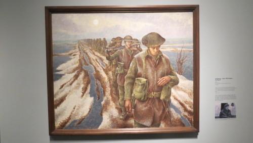 Infantry, near Nijmegen, Holland by Alex Colville