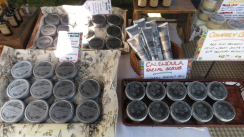 Natural skincare products from Vauxhall Gardens