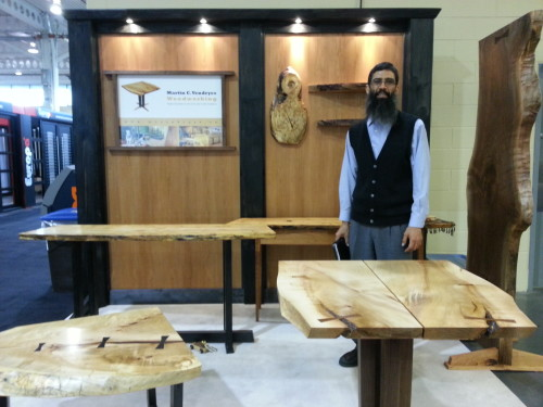 Martin C. Vendryes Woodworking at Toronto Fall Home Show